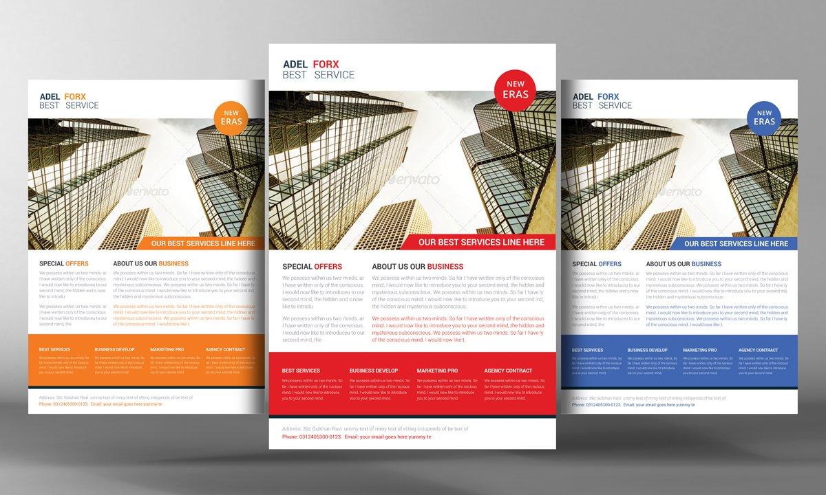 Sales Services Flyer Flyer Templates Creative Market