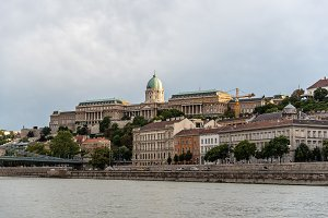 Scenic view of Buda Castle  in Budapest