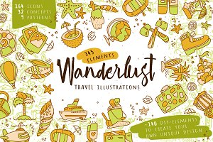 Wanderlust - Travel Illustrations