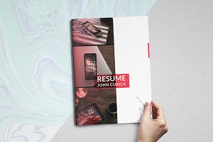 Creative Resume/CV Portfolio