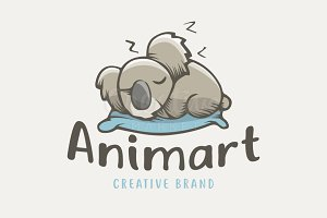 Koala Sleep Animal Cartoon