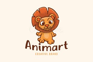 Baby Lion Animal Cartoon