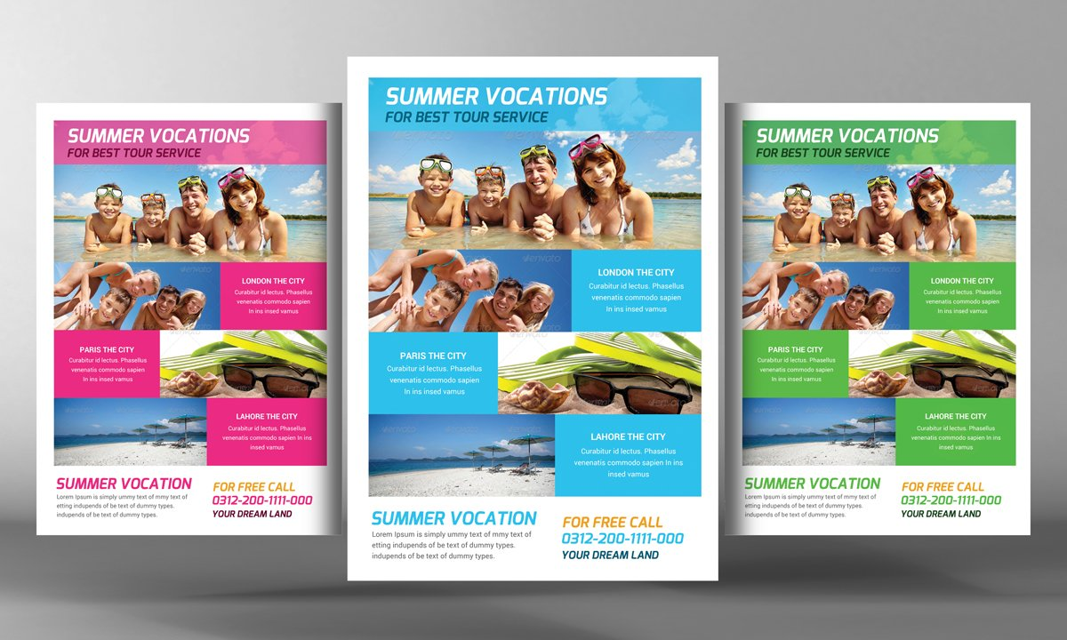 tour travel flyer template flyer templates creative market