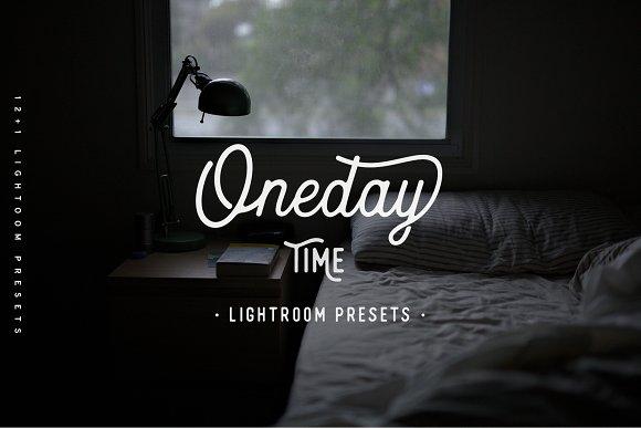 Oneday Time Lightroom Presets