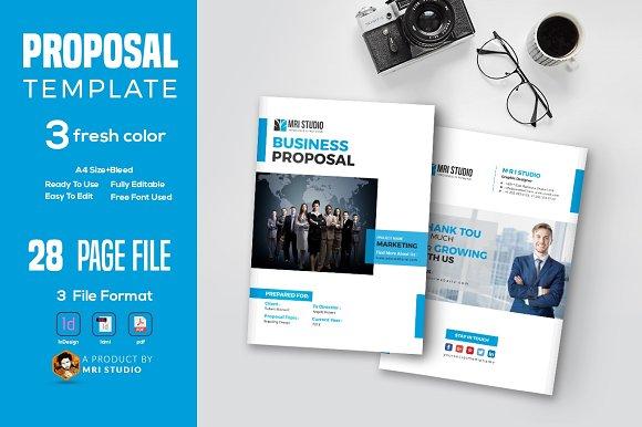 Proposal Template Suisse Design Free Download Designtube