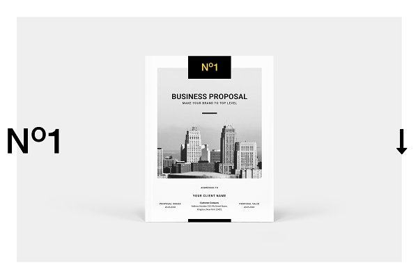 Brochure Templates - Business Proposal Template