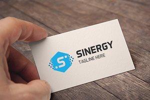 Letter S (Sinergy) Logo