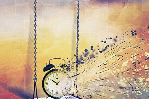 Time is swinging
