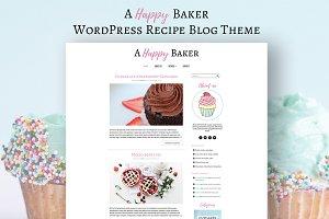 A Happy Baker - Wordpress Blog Theme