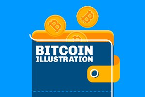 Bitcoin Illustration Pack