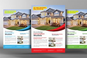 Real Estate Agents Flyer