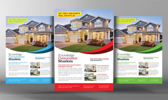 Real Estate Agents Flyer