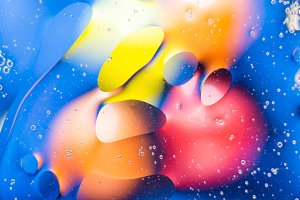 Abstract background. Multicolored stains water stains