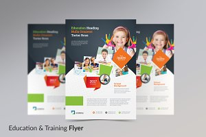 Education & Training Flyer