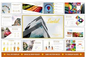 Sandal Creative Powerpoint
