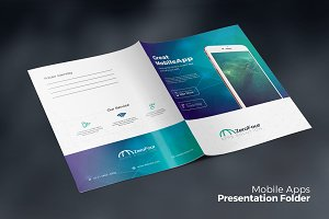 Mobile Apps Presentation Folder