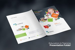 Education Presentation Folder