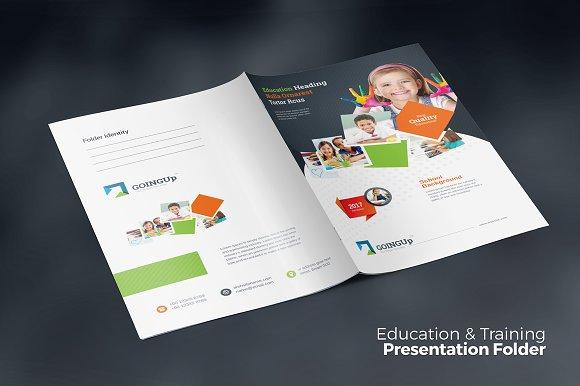 Education Presentation Folder