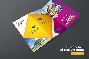 Travel & Tourism TriFold Brochure
