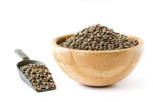 Lentils grain