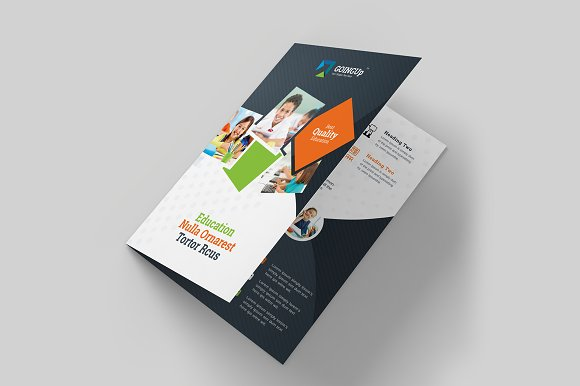 Education Training BiFold Brochure