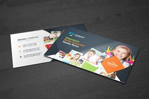 Education & Training Business Card