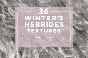 36 Winter's Hebrides Textures