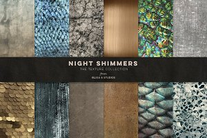 Night Shimmers Iridescent Textures