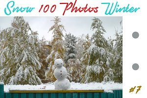The best 100 photos of winter snow 7
