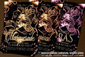 Masquerade Carnival Mardi Gras Party