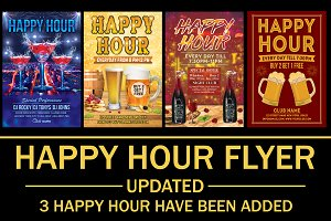 Happy Hour Flyer