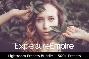 500+ Lightroom Presets Bundle