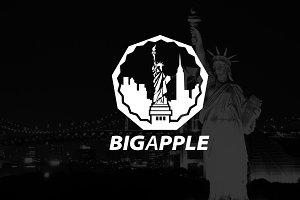 Logo template | BIGAPPLE