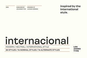 Internacional - 50% off