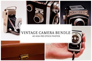 Vintage Camera Stock Bundle