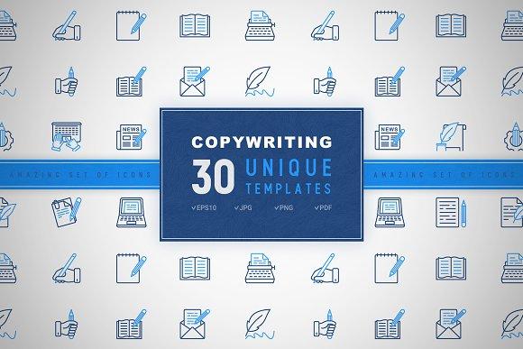 Copywriting Icons Set | Concept