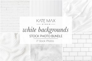 White Backgrounds Stock Photo Bundle