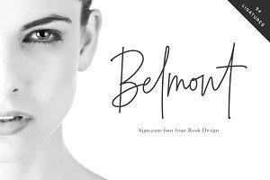 Belmont Script - 54 Ligatures!
