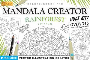 Rainforest Illustration Creator
