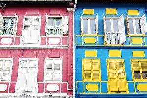 Colorful apartment