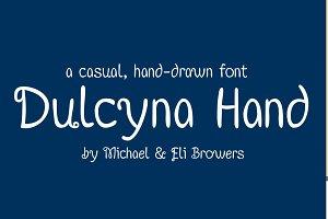 Dulcyna Hand Font