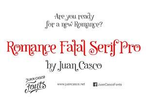 Romance Fatal Serif Pro