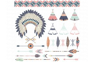 Tribal Elements Set