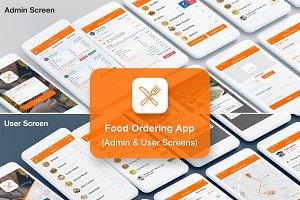 Food Ordering Admin & User