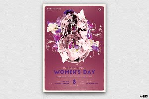 Womens Day Flyer Template V1