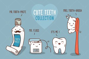 Mega Collection Cute Teeth