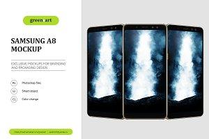 Samsung A8 PSD Mockup