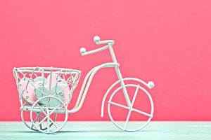 Decorative bicycle