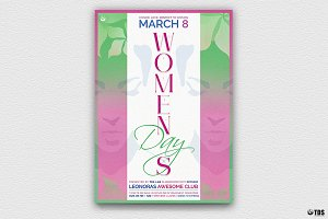 Womens Day Flyer Template V2