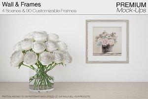 White Roses & 90 Frames